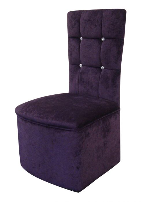 Bedroom chairs luxurious bedroom boudoir chair in purple - Purple chairs for bedroom ...