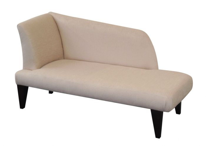 Chaise longue chaise longue in luxurious colour fabrics for Chaise longues uk
