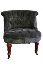 Kensington Occasional Chair in Charcoal
